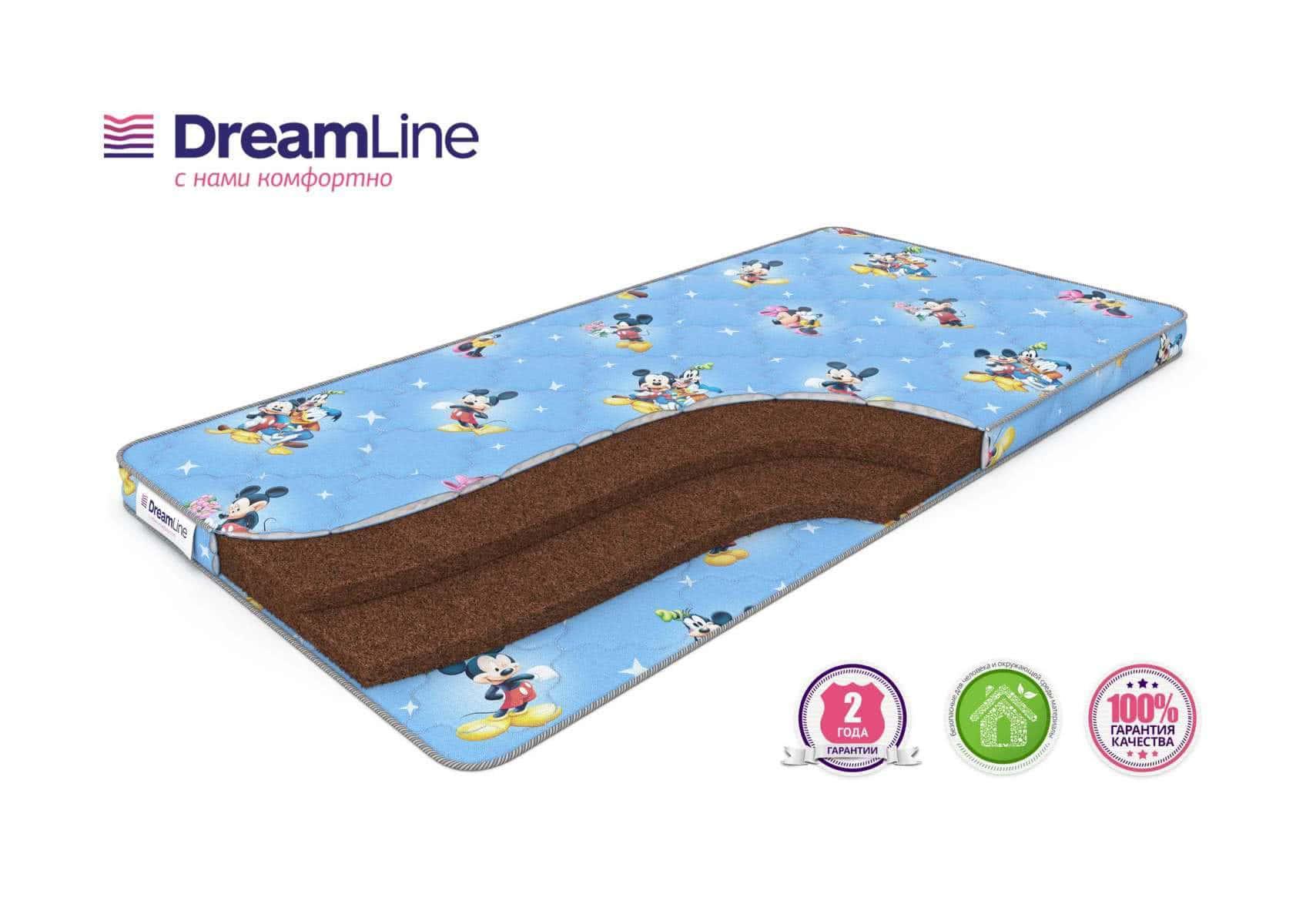 Детский матрас DreamLine BabyDream 6
