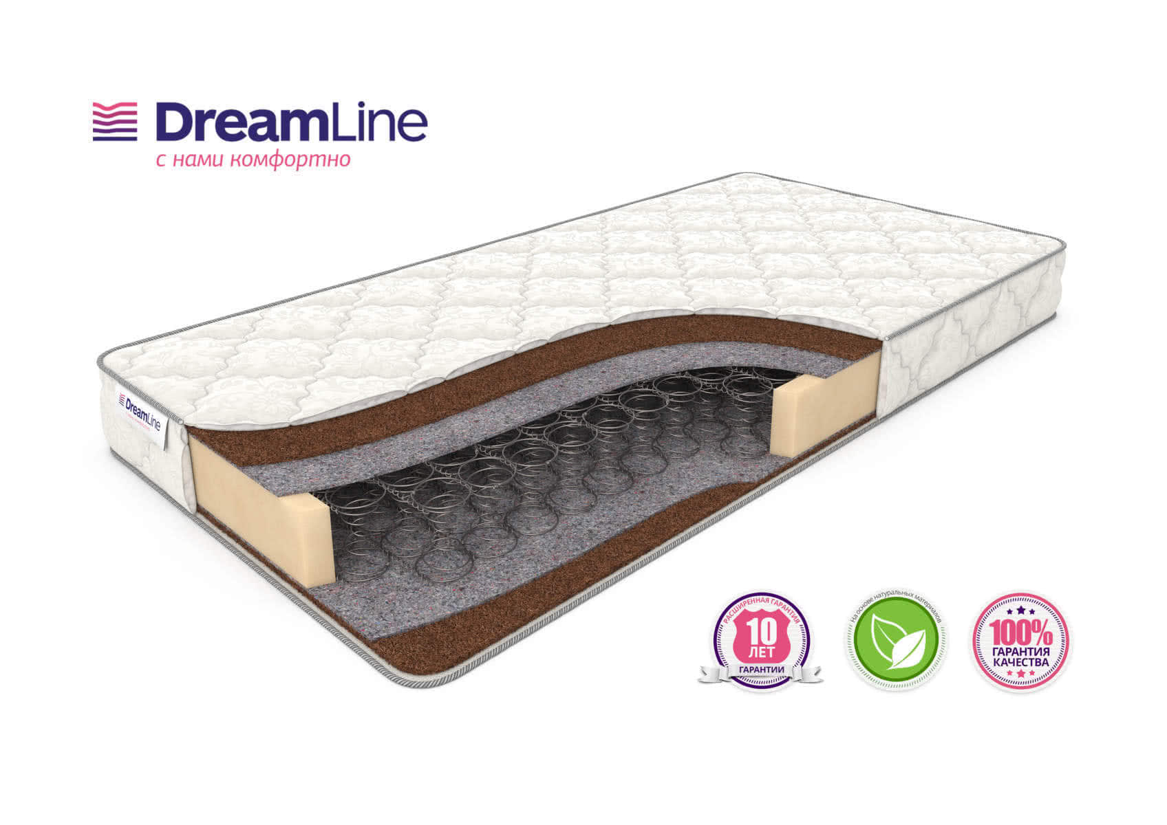 Матрас DreamLine Dream 1 Bonnell