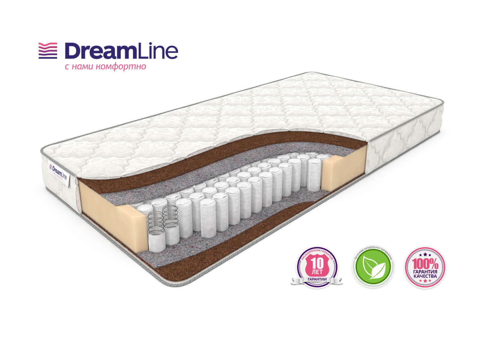 Матрас DreamLine Dream 1 TFK