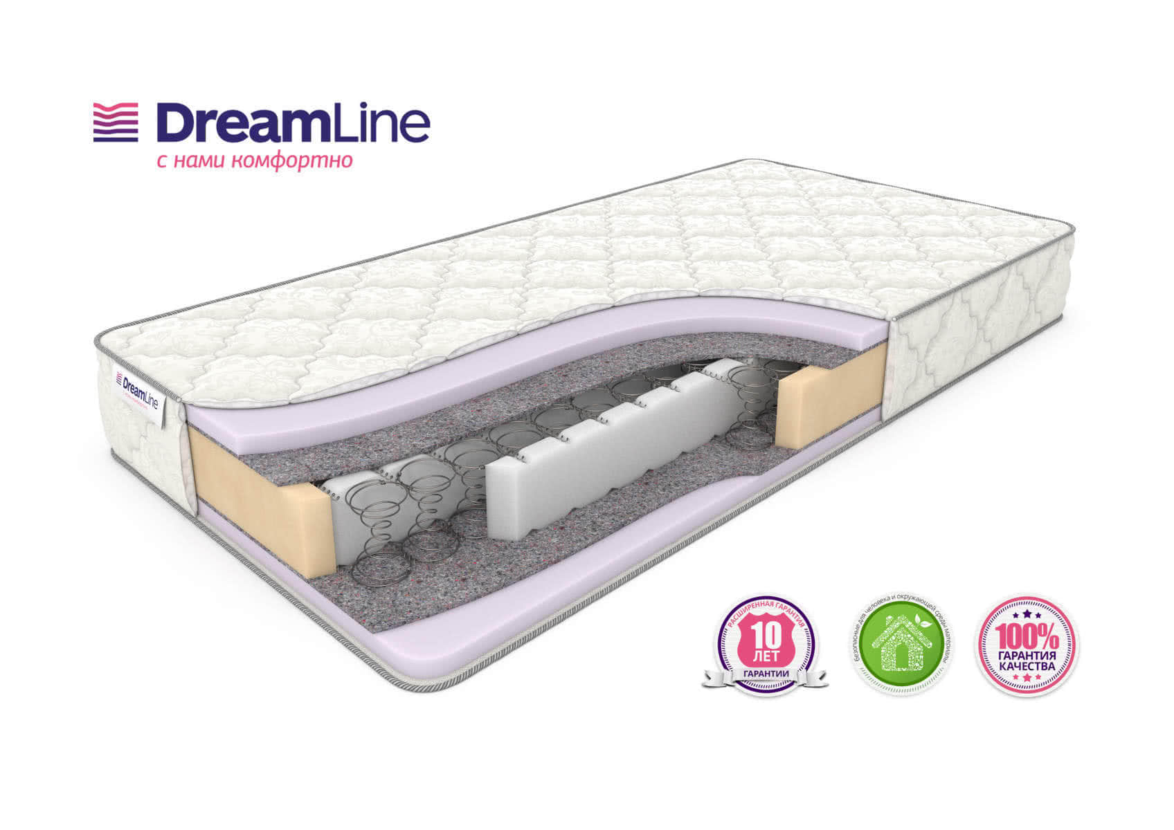 Матрас DreamLine Eco Strong Bonnell+