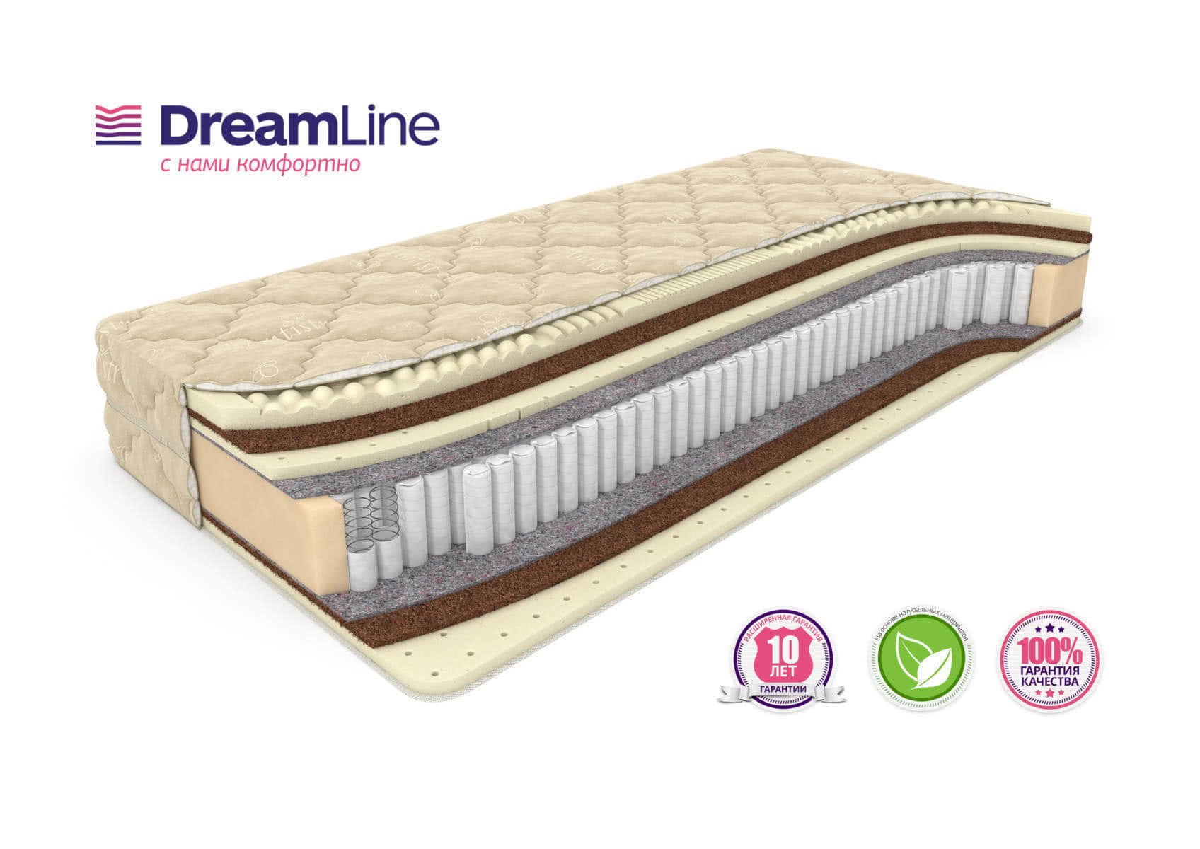 Матрас DreamLine Dream Massage S1000