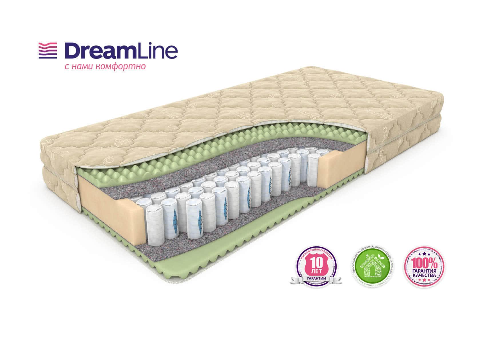 Матрас DreamLine Komfort Massage DS