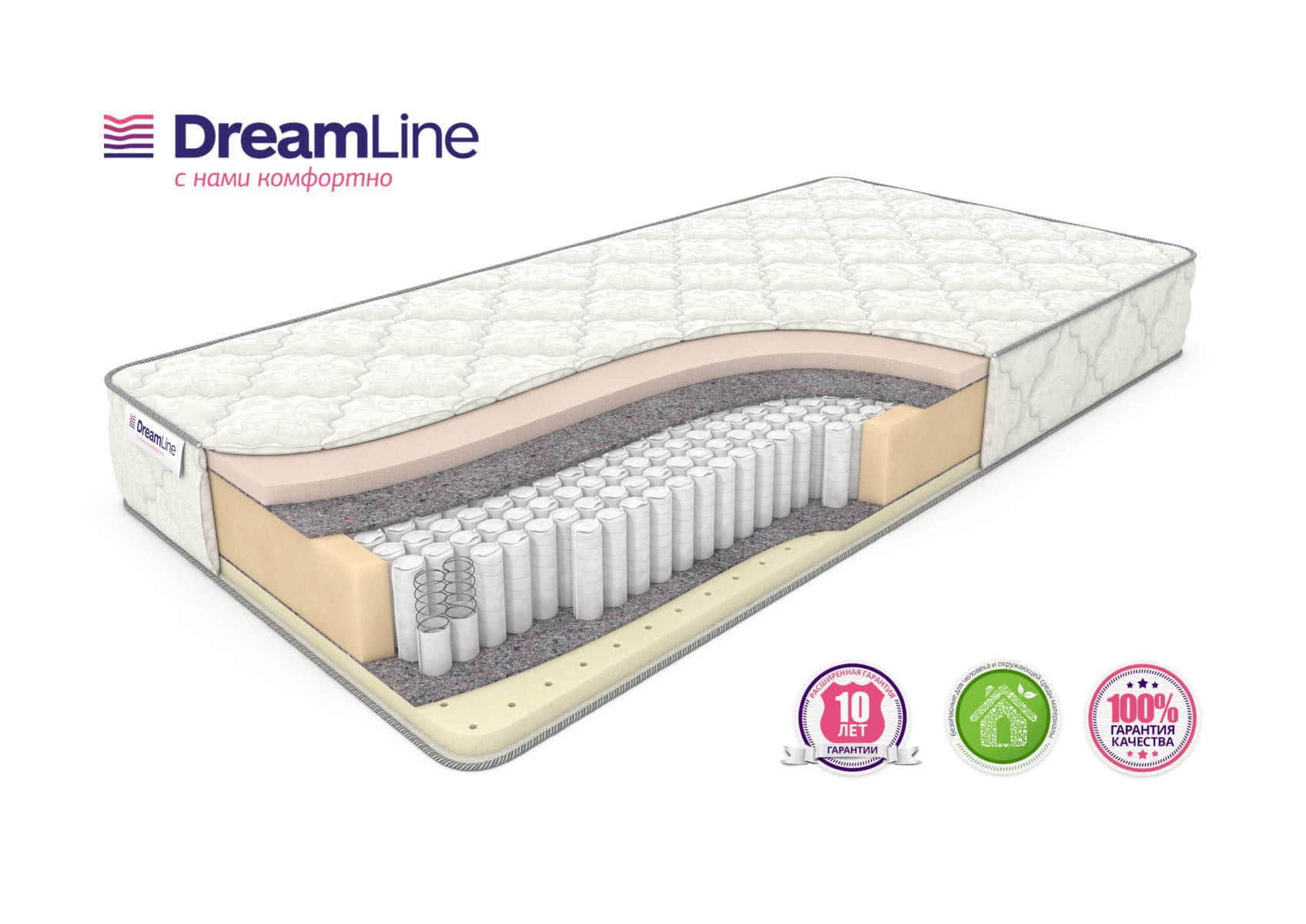 Матрас DreamLine Memory Sleep S1000