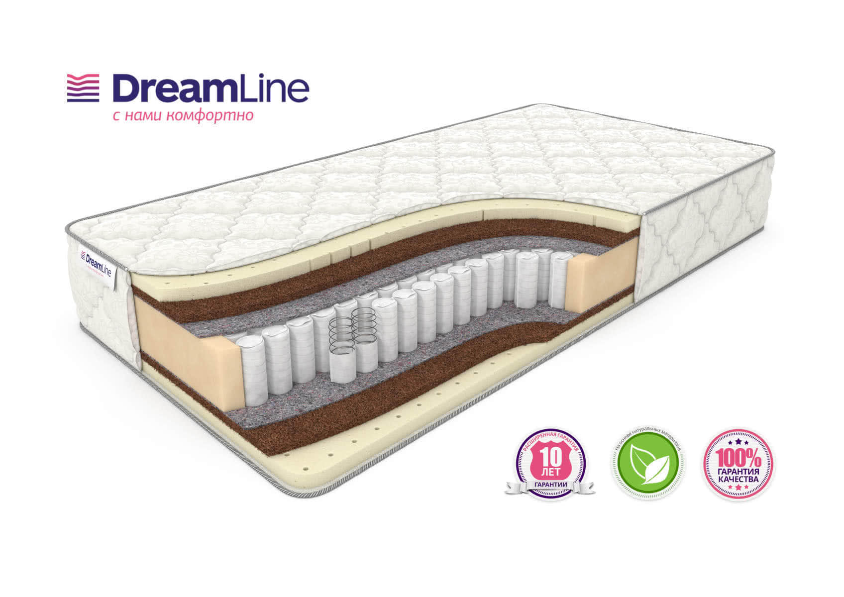 Матрас DreamLine Prime Medium TFK