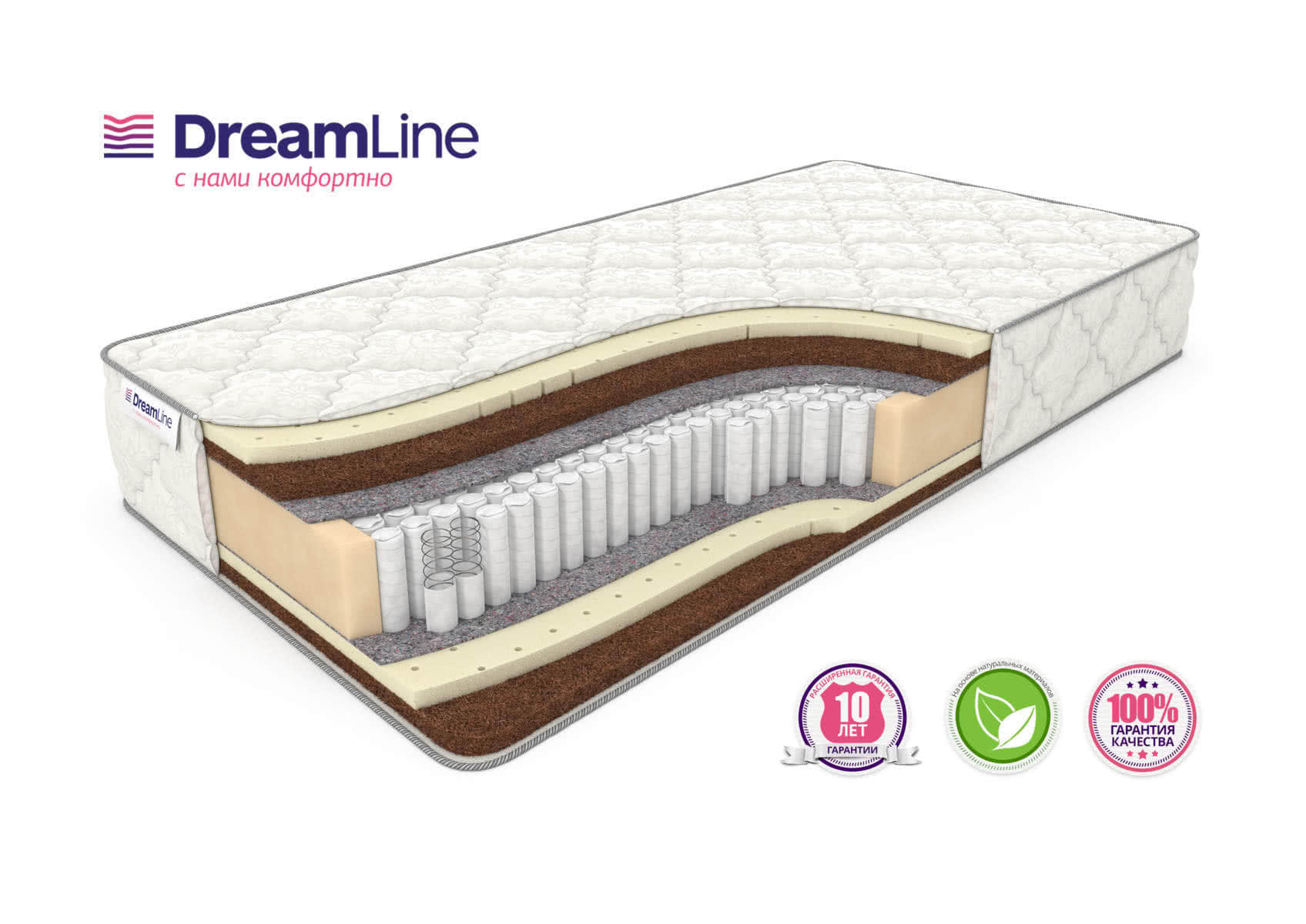 Матрас DreamLine Prime Mix S1000