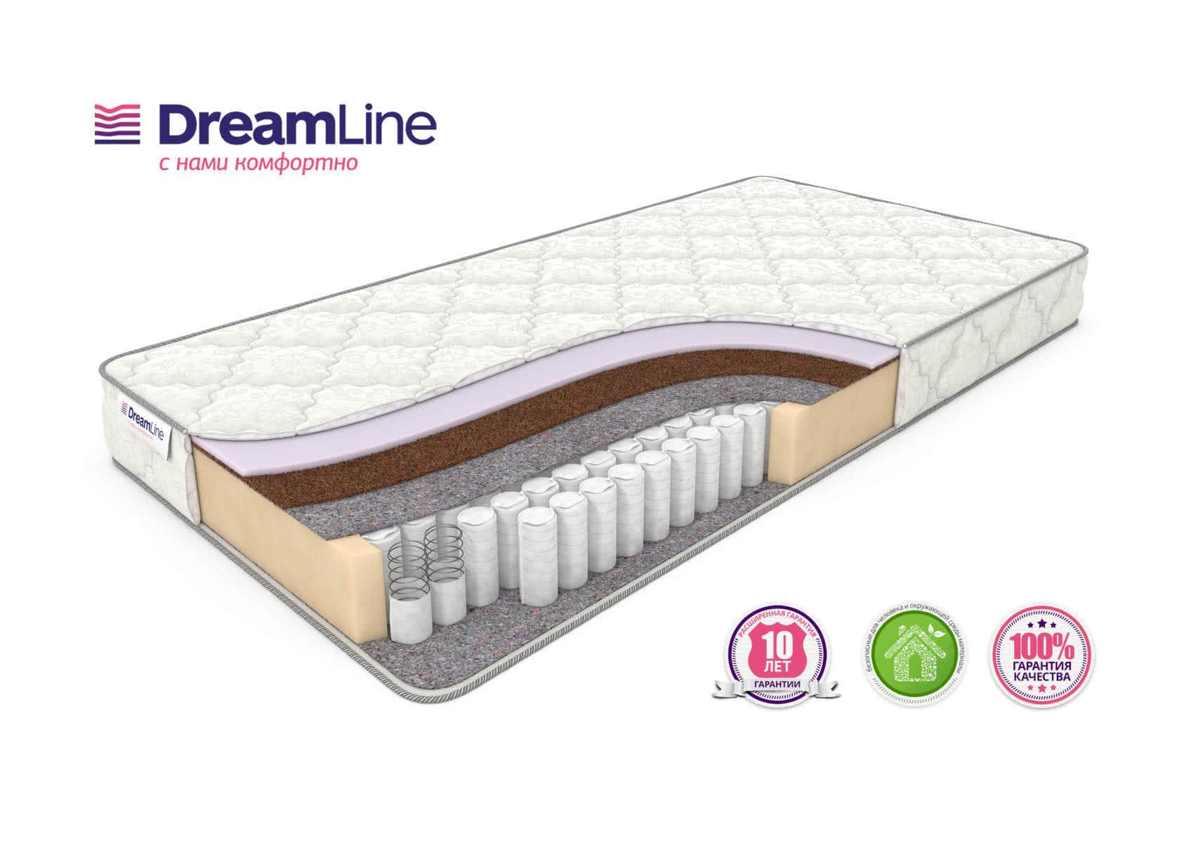 Матрас DreamLine Single Foam Hard TFK