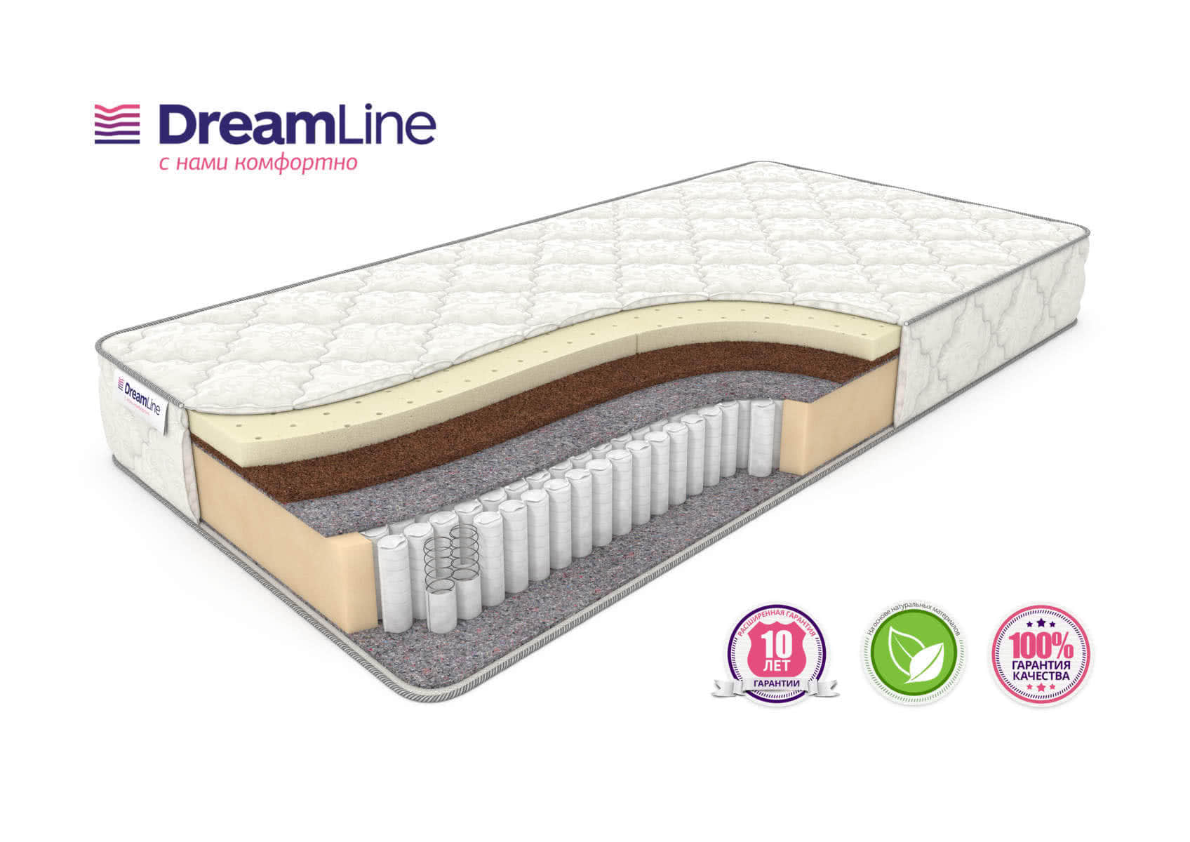 ������ DreamLine Single SleepDream Medium S1000