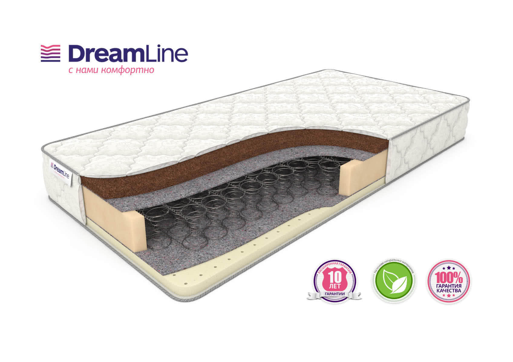 Матрас DreamLine SleepDream Bonnell