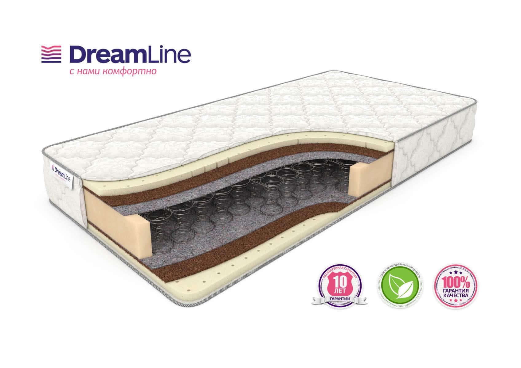 Матрас DreamLine SleepDream Medium Bonnell
