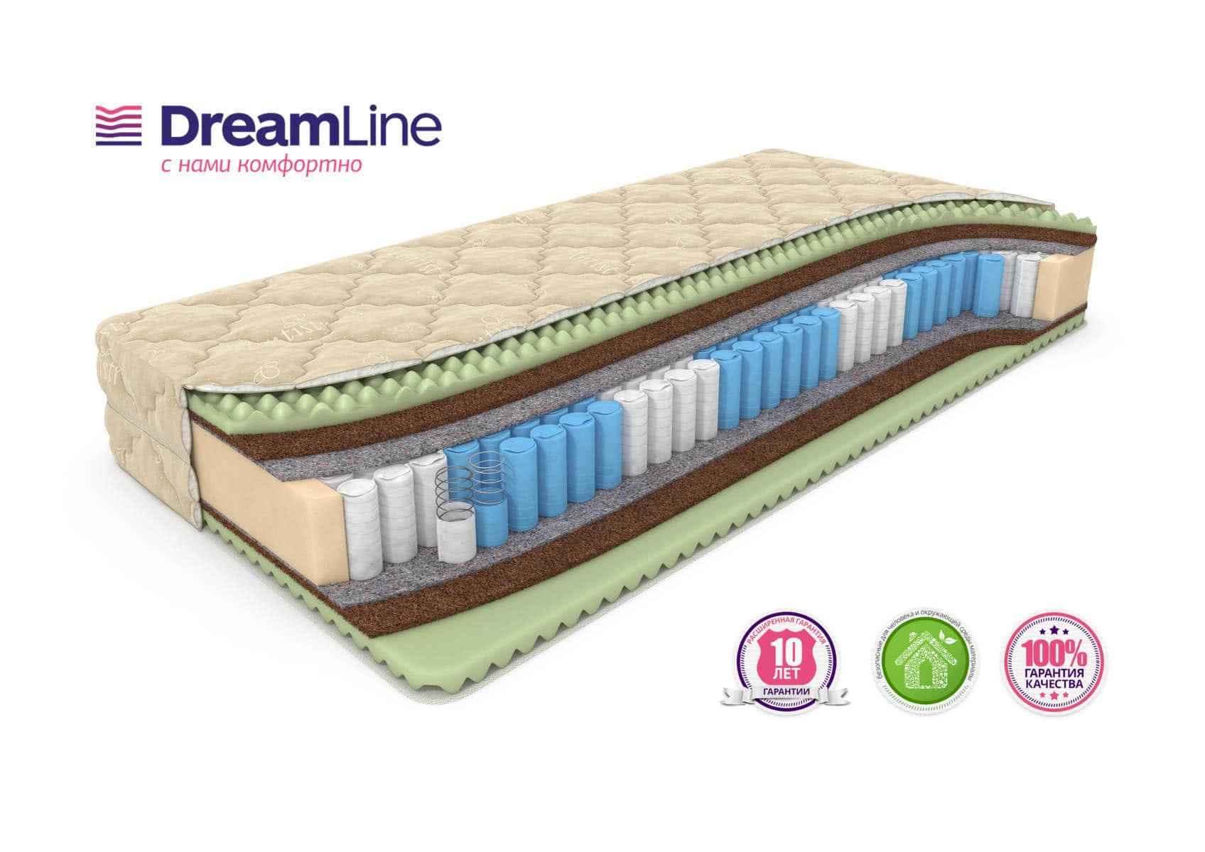 ������ DreamLine Ergo Foam Smart Zone