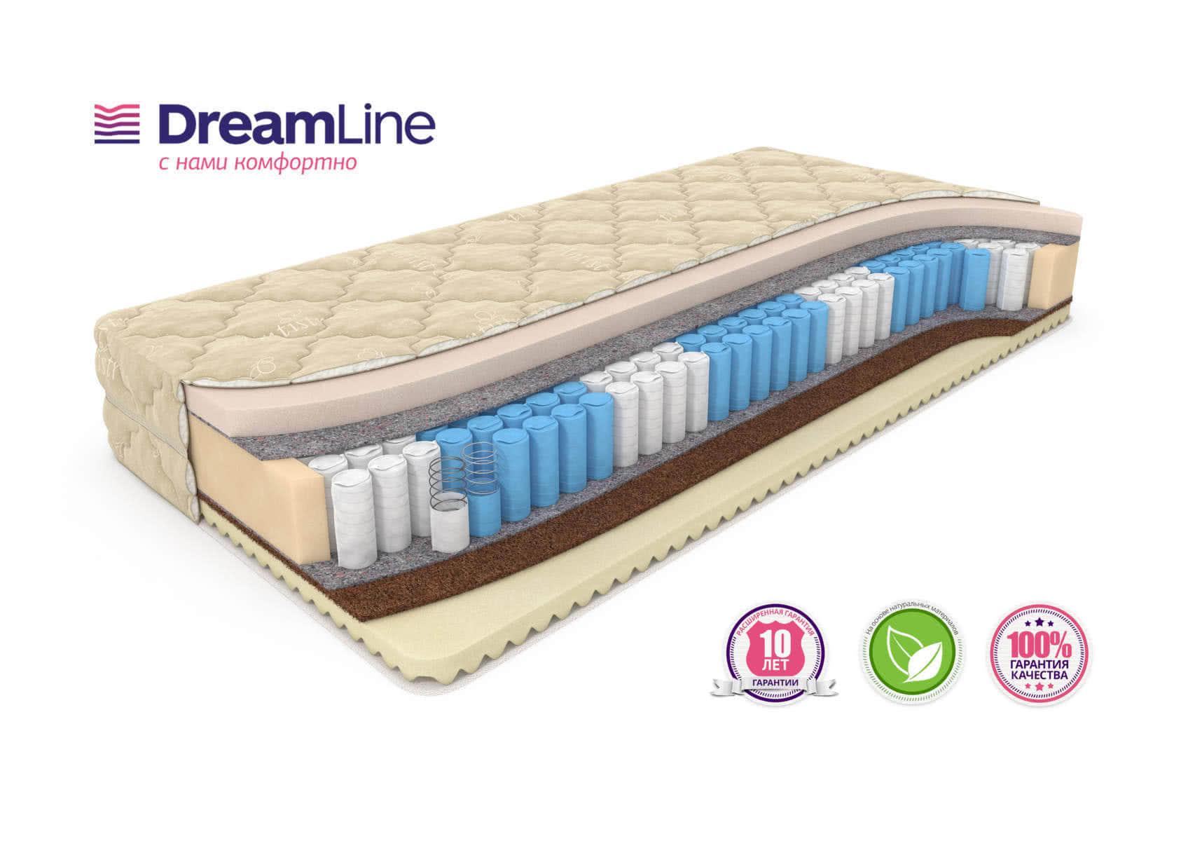 Матрас DreamLine Memory Mix Smart Zone