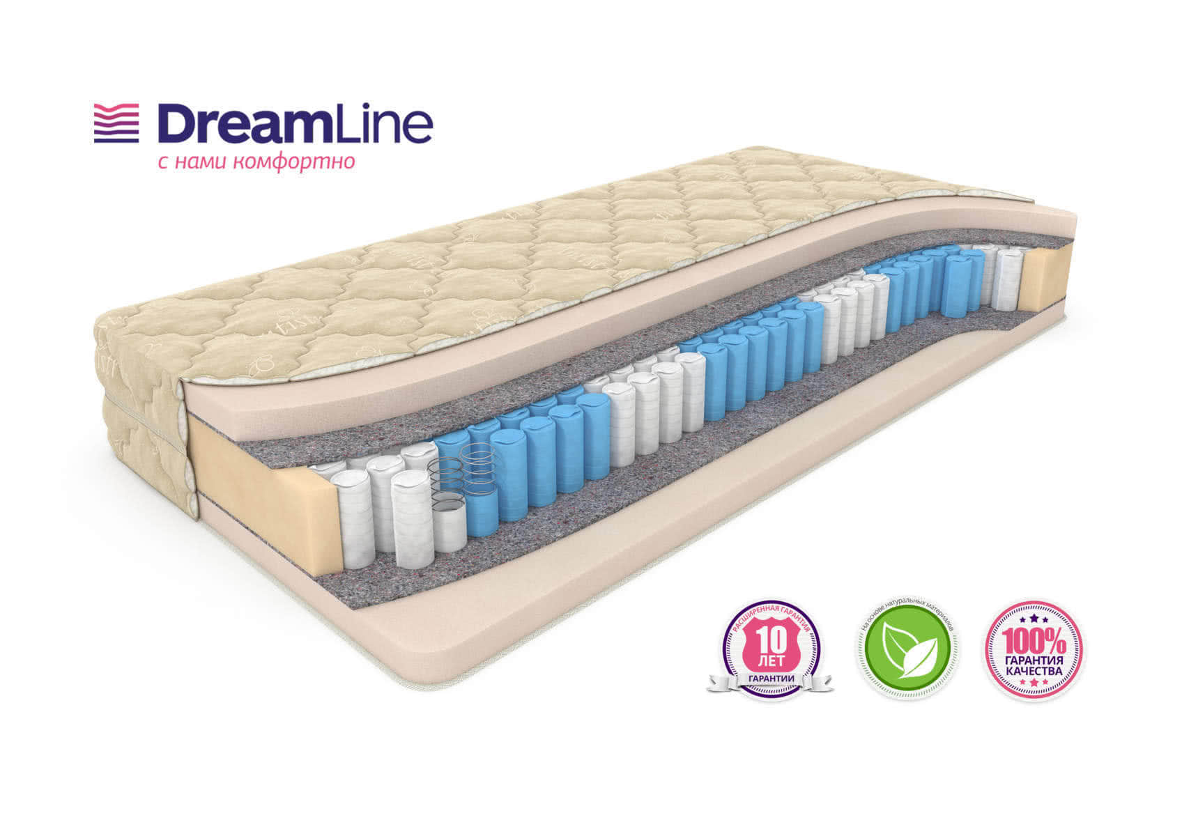 Матрас DreamLine Memory Smart Zone