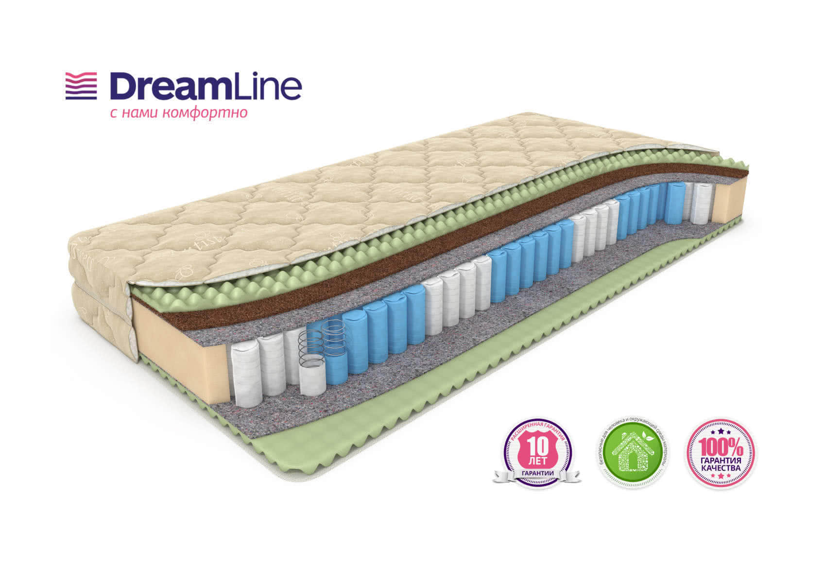 ������ DreamLine Mix Foam Smart Zone