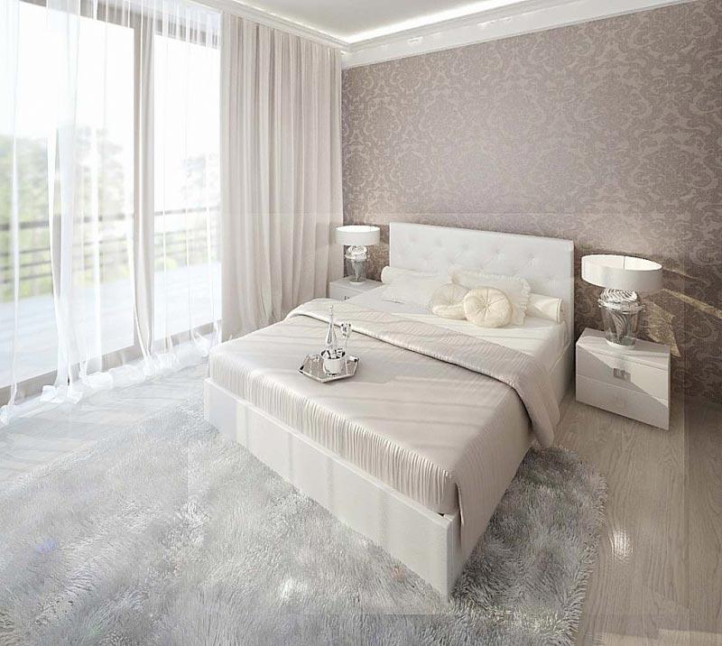 Кровать Армос Кристалл-2 с пуговицами