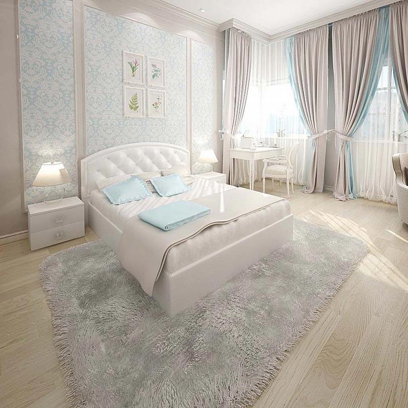 Кровать Армос Кристалл-3 с пуговицами