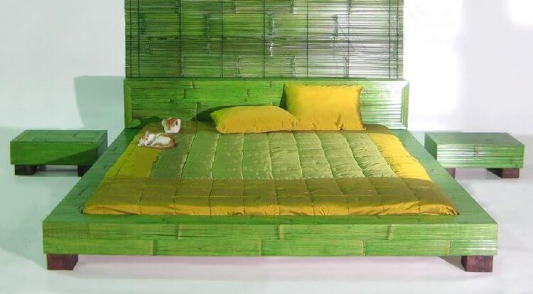 Кровать из бамбука HIGH TOUCH Monsoon I-Q3