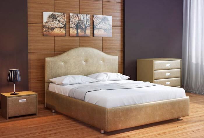 Картины в спальне (кровать Орматек)