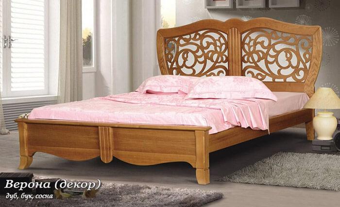 Кровать из массива (Фокин)