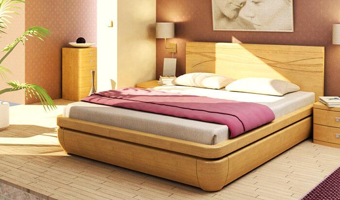 Кровать из массива (Торис)