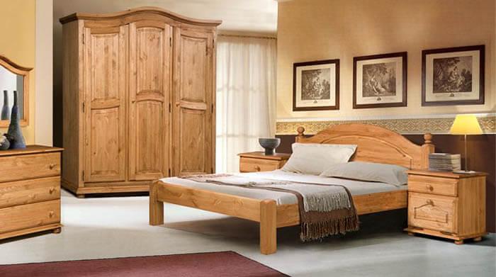 Кровать из сосны Бобруйскмебель