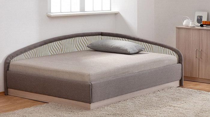 Угловая кровать-тахта (Боровичи)