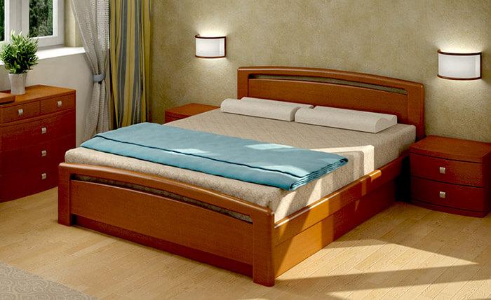 Бра в спальне (Кровать Торис)