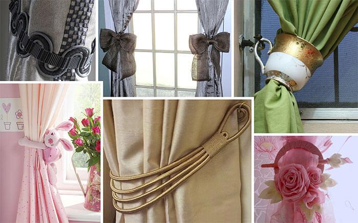 Как украсить шторы своими руками фото 937
