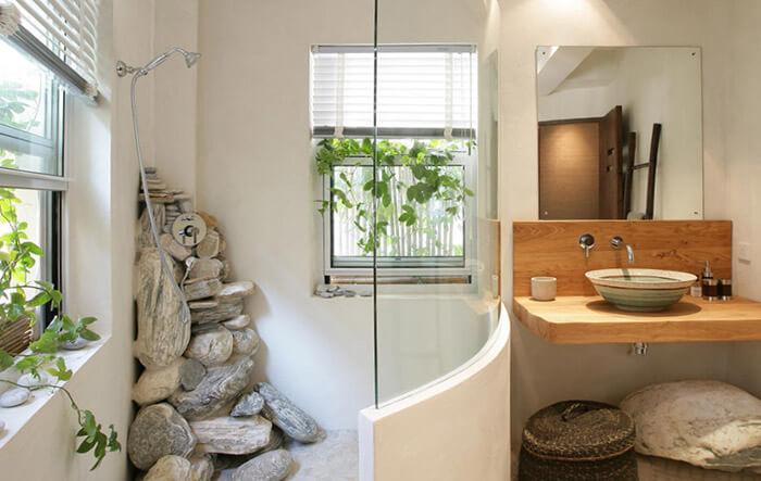 модная ванная комната в стиле эко как сделать дизайн ванной в экостиле
