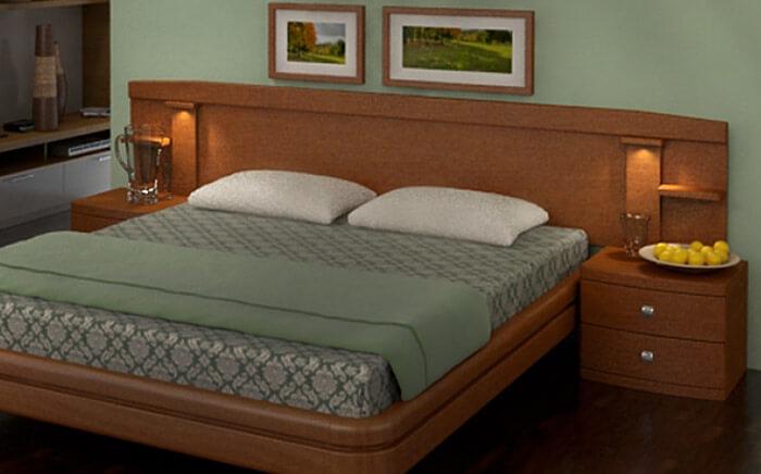 Подсветка кровати в спальне (Торис)