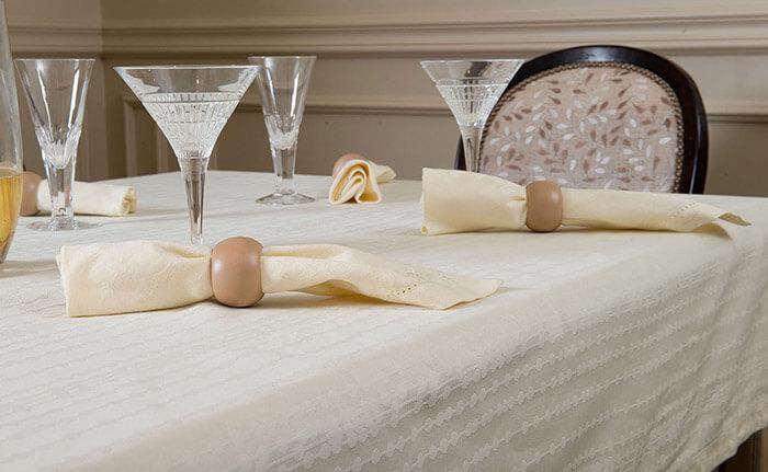 Подбираем размер скатерти для стола (Скатерть Julia Vysotskaya)