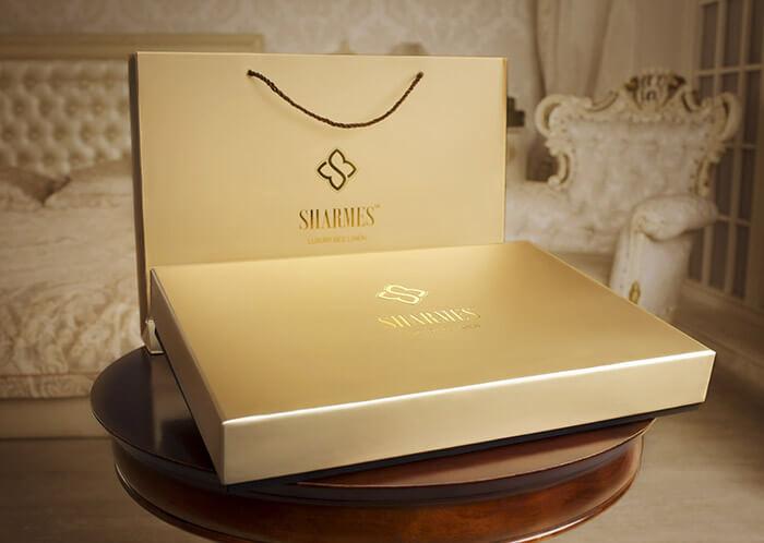 Упаковка постельного белья Sharmes