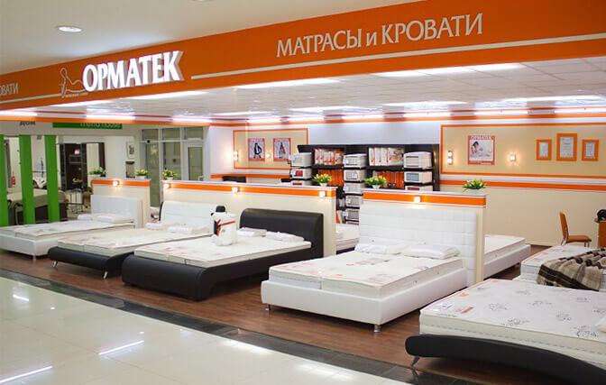 Кровати и матрасы Орматек