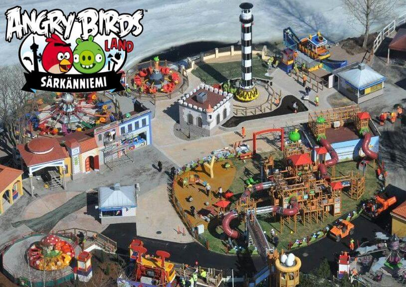 ���� Angry Birds Land � ���������