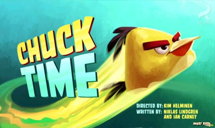 ���������� Angry Birds Chuck Time