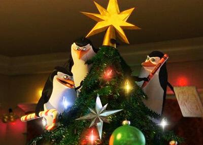 Пингвины из Мадагаскара: Операция С Новым годом!
