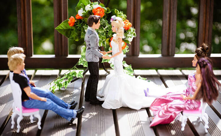 Свадьба Барби и Кена