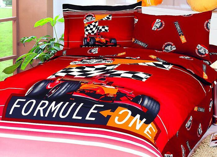 Постельное белье для мальчика Формула-1 (Le Vele)