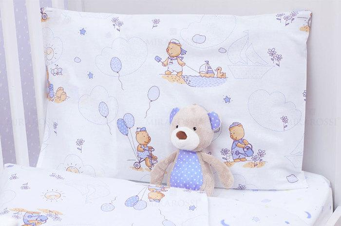 Детское постельное белье для новорожденного мальчика (Mirarossi)
