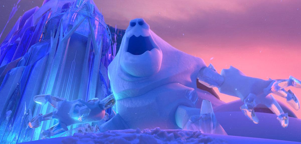 Кадр из мультфильма Холодное сердце