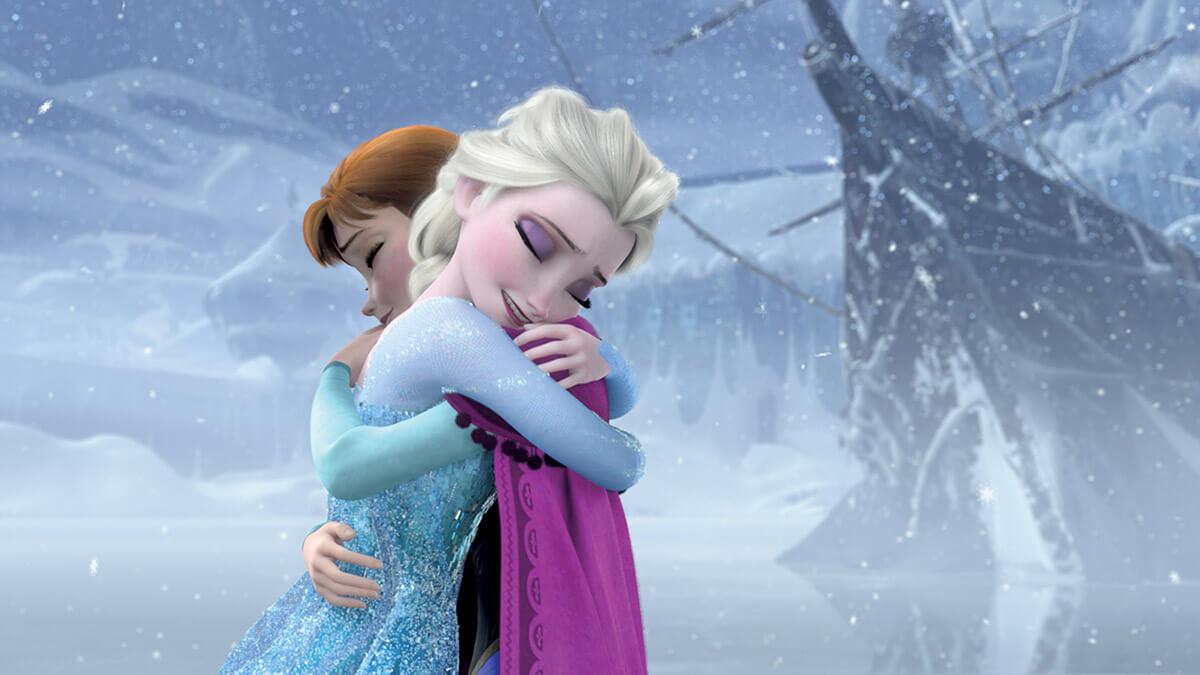 Принцессы Анна и Эльза (Холодное сердце)