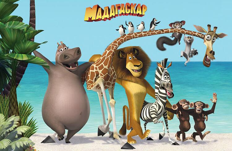 Мультфильм «Мадагаскар»