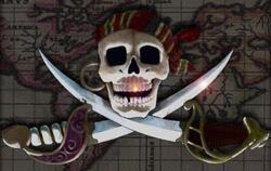Детское постельное белье - Пираты