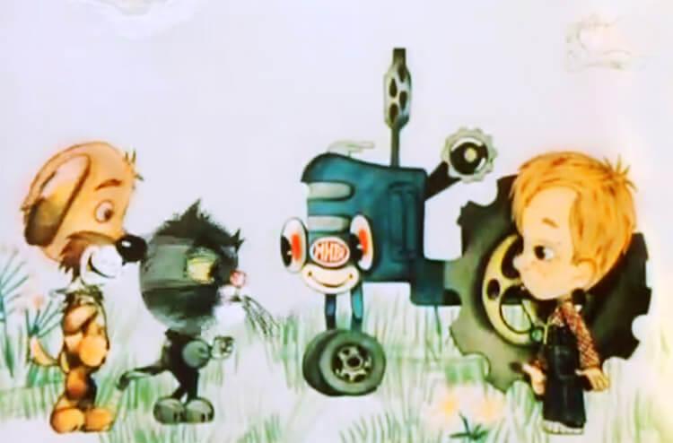 Смотреть мультфильм дядя фёдор пёс и кот