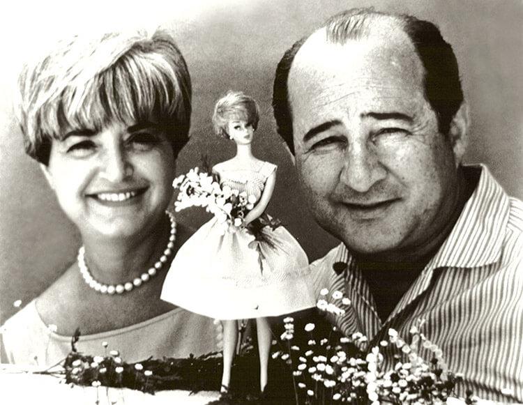 Рут и Элиот Хэндлер - авторы куклы Барби