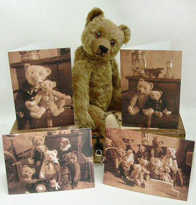Старинные мишки Тедди