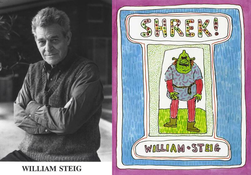 Уильям Стейг и его книга «Шрек!»
