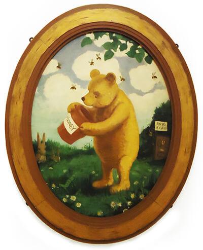 Винни-Пух - картина  Э.Х.Шепарда