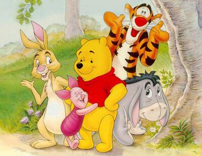 Герои мультфильма Винни Пух (Disney)