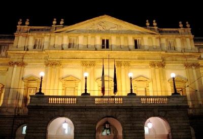 Страна матрасов: Италия, Театр ЛаСкала в Милане