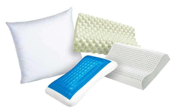 На подушке какой формы лучше спать?